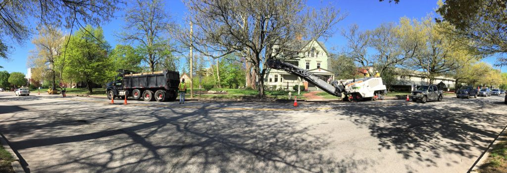 Midway Installs New Gas Main